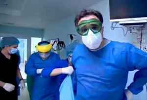 """""""ექიმი 8 საათი ვერ ჯდება, ამ დროს ატარებს ჯოჯოხეთურ პირობებში"""" - რა ნახა ირაკლი იმნაიშვილმა რეანიმაციაში, სადაც კორონავირუსიან უმძიმეს პაციენტებს მკურნალობენ"""