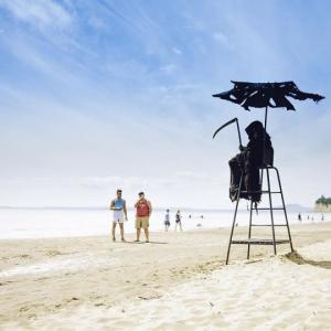 ფლორიდაში სანაპიროზე სიკვდილის ანგელოზი გამოჩნდა