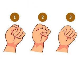 რას ამბობს თქვენს შესახებ ის თუ როგორ მუჭავთ ხელს