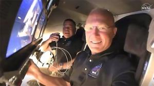 NASA- ს საცდელი ფრენა პირდაპირ ეთერში