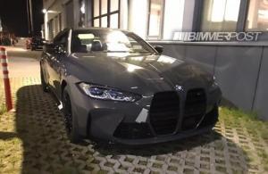 სოციალურ ქსელში ახალი BMW M4 -ის ფოტოები გამოჩნდა