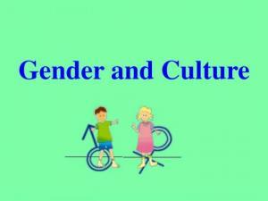 თვითგახსნის განმსაზღვრელი კულტურული და გენდერული ფაქტორები