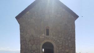 დედოფლისწყაროს ყველაზე მოწყვეტილ სოფელში პირველი მართლმადიდებლური ტაძარი აშენდა