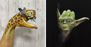 იაპონელი მხატვრის გასაოცარი რეალისტური ნამუშევრები, რომელიც შიშისგან შეგაკრთობთ