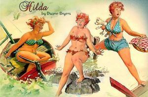 სექსუალური ჰილდა, 50-იანი წლების პინ-აპის ფერ-ხორციანი ვარსკვლავი
