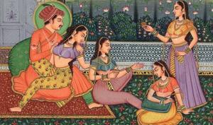 მესამე სქესი, ღალატი, მდიდარი კურტიზანები...  –  როგორ ერთობოდნენ ძველად ინდოეთში