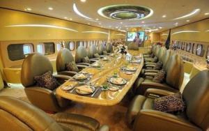 გაინტერესებთ როგორ გამოიყურება თვითმფრინავი, რომლის ღირებულებაც 90 მილიონი დოლარია? (ფოტოები)