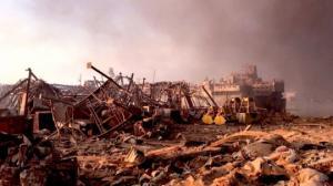 ბეირუთში მომხდარი აფეთქების შოკისმომგვრელი ფოტოსურათები
