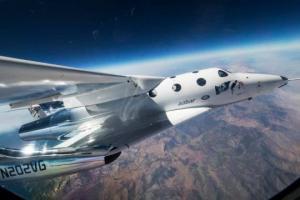 გასაოცარი თვითმფრინავი, რომლითაც წლის ბოლოს ტურისტები კოსმოსში იფრენენ