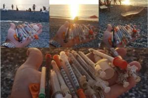 ფრთხილად იყავით!!!... - რა ხდება ბათუმის სანაპიროზე (ფოტოები)