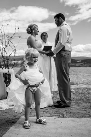სახალისო საქორწილო ფოტოშედევრები, სადაც მთავარ როლებში ბავშვები არიან (+ფოტოები)
