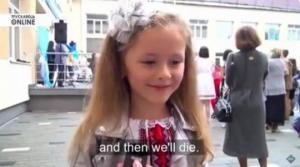 """უკრაინელი პირველკლასელის ვიდეომ -""""რატომ სურს სკოლაში წასვლა""""მთელი მსოფლიო მოიარა(ვიდეო)"""