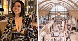 პარიზის ცნობილ მუზეუმში ქალი ღრმა დეკოლტეს გამო არ შეუშვეს