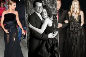 შავი პატარძლები:  8 ვარსკვლავი, რომელმაც თეთრ საქორწინო კაბას შავი არჩია
