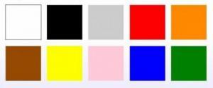აირჩიეთ საყვარელი ფერი და გაიგეთ ყველაფერი თქვენ შესახებ