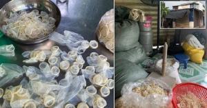 პოლიციამ აღმოაჩინა თაღლითები,რომლებიც ნახმარ პრეზერვატივებს ყიდიდნენ