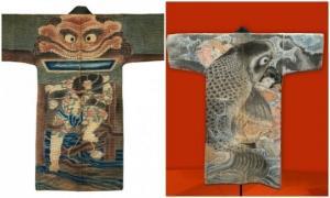 მე-XVII-XIX საუკუნეების იაპონელი მეხანძრეების მოსასხამები, როგორც ხელოვნების ცალკეული ფორმა