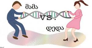 7 რამ, რაც ბავშვებს გენეტიკურად მხოლოდ მამისგან გადაეცემათ