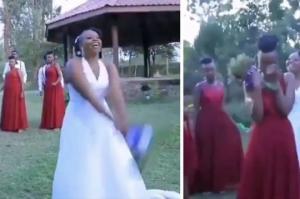 პატარძალმა დაქალი საკუთარ ქორწილში გაათხოვა(ვიდეო)