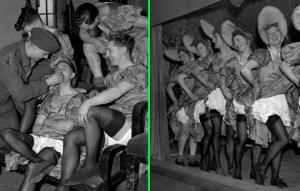 ბრიტანელი ჯარისკაცების აკრძალული ფოტოსურათები, რომელთა ჩვენებაც მეორე მსოფლიო ომის პერიოდში არ შეიძლებოდა