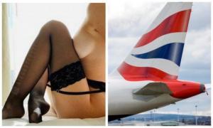 სტიუარდესა თვითმფრინავში ფრენისას მგზავრებს სექსს  სთავაზობს