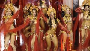ცეცხლოვანი ბრაზილიელი გოგოები