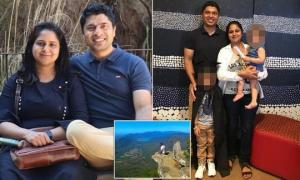 38 წლის ქალი ეფექტური სელფის გამო ქმარ-შვილის თვალწინ კლდიდან გადაიჩეხა