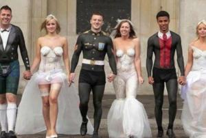 ყველაზე გიჟური საქორწილო ფოტოები, რომელთა წაშლა მეხსიერებიდან გვიანია