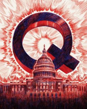 ამერიკული ოცნების დასასრული, ტრამპი და მოძრაობა QAnon