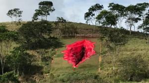 ვაგინის ქანდაკება ბრაზილიაში, პერნამბუკოს შტატში, რომელმაც აჟიოტაჟი გამოიწვია