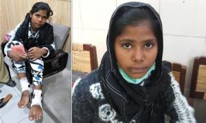 """პაკისტანის პოლიციამ """"საქმე"""" შეწყვიტა.რადგან ,მიიჩნია,რომ 12 წლის ქრისტიანი გოგონა """"ნებით"""" გაჰყვა 45 წლის კაცს"""