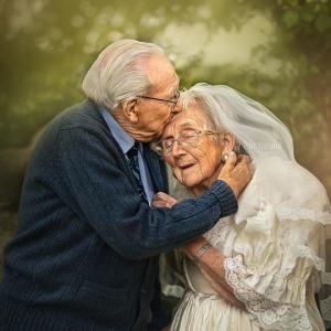72 წლიანი სიყვარულის ისტორია ფოტოებში