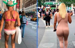 ფრთხილად, მეტისმეტად  ტრენდულია: ყველაზე ეპატაჟური ნიუ – იორკელების გიჟური მოდა