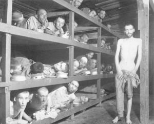 საზარელი კადრები ნაცისტების საკონცენტრაციო ბანაკებიდან