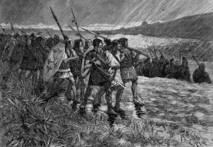 კოლხები ფლავიუს არიანეს არმიაში