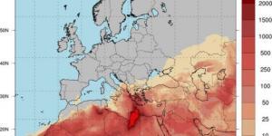 20-21 თებერვალს ევროპა საჰარის უდაბნოს მტვრით დაიფარება