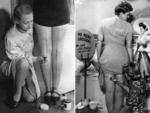 რატომ იხატავდნენ ქალები ფეხებზე სწორ ხაზებს მეორე მსოფლიო ომის დროს?