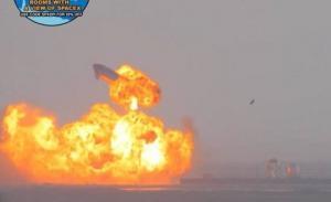 """კორპორაცია """" SpaceX""""-ის ჯგუფმა  წარმატებით შესძლო ხომალდ  """"Starship SN10""""-ის დასაფრენ პლატფორმაზე დასმა, მაგრამ ხომალდი-პროტოტიპი მაინც აფეთქდა"""