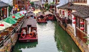 """სუჩჟოუ - """"ჩინური ვენეცია"""", ქალაქი წყალზე, რომლის სილამაზეც დაგატყვევებთ"""