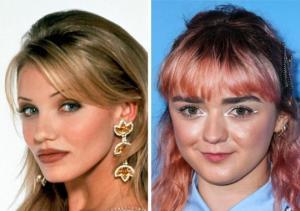 ჰოლივუდის ძველი და ახალი თაობის მსახიობები ერთსა და იმავე ასაკში- ნახეთ რა განსხვავებაა