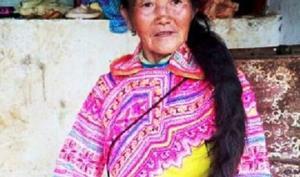 ჩინელმა ქალმა 2.5-მეტრიანი ნაწნავების გაზრდას 35 წელი მიუძღვნა