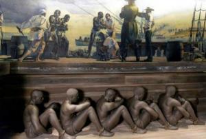 ნახეთ რა საშინელ პირობებში გადაჰყავდათ ევროპელებს შავკანიანი მონები გემებით