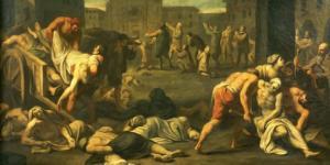 მე-14 საუკუნის 40-იანი წლების მიწურულს, საქართველოს კორონა ვირუსზე ბევრად საშიში დაავადება - შავი ჭირის ეპიდემია მოევლინა