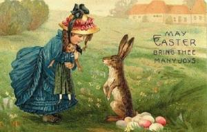 რატომ მიაქვთ კურდღლებს კათოლიკეებისთვის კვერცხები?