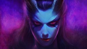 DOTA 2 Queen Of Pain - გმირის ისტორია