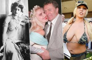 ცნობილი ქალბატონები სექს-ინდუსტრიიდან, რომლებიც სერიოზულ პოლიტიკურ თამაშებში მონაწილეობდნენ
