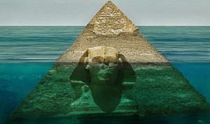 წარღვნის დროს ეგვიპტის პირამიდები წყლით იყო დაფარული. მტკიცებულება, რომ პირამიდები ჩვენი ცივილიზაციის მიერ არ არის აშენებული