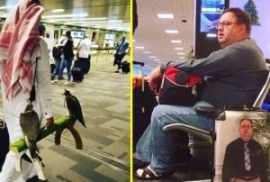 აეროპორტის თანამშრომლები არასოდეს არ იწყენენ - გახალისდით!