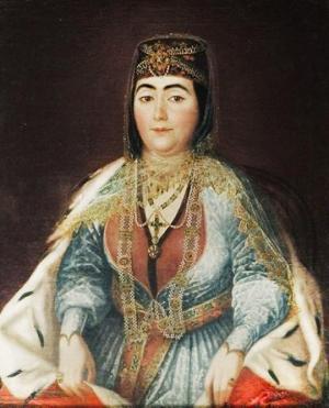 ერეკლე მეფის მესამე ცოლის, დარეჯან დადიანის სიავენი