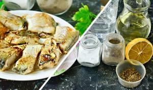 შემწვარი თევზი ინდურად  (გემრიელი და მარტივად მოსამზადებელი, + სოუსის რეცეპტი, შემწვარი თევზისთვის)
